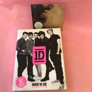 Bundle One Direction book and Harry Styles CD